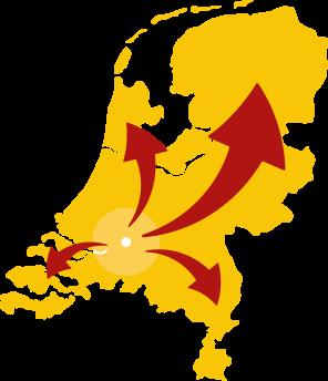 Volledige dekking in de Benelux